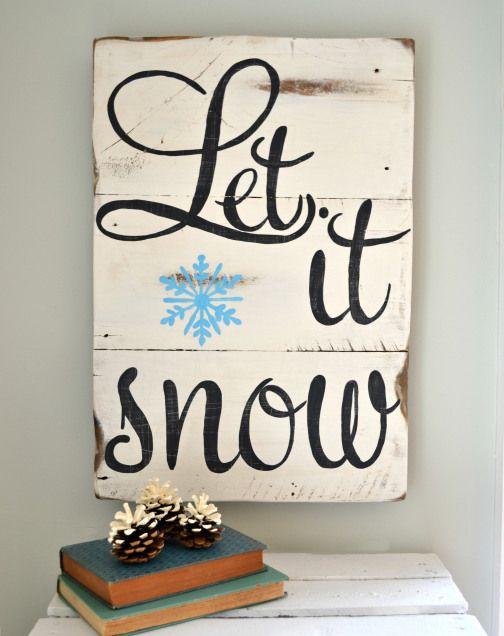 Let it snow - @Kelly DeWitt Can you make this for me?!?! (am i sending you too many?? lol)