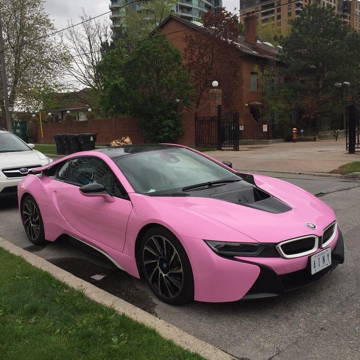 Baby Pink BMW I8 #carspotting #cars #car #carporn