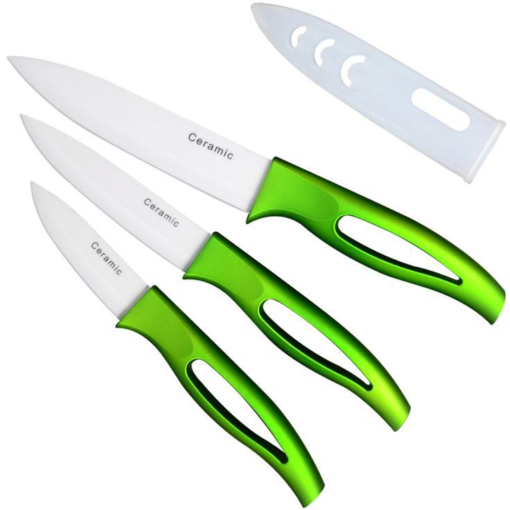 K merek keramik pisau dapur mengiris accessoires 5 ''4'' 3 ''paring buah utilitas pisau dapur sangat panas penjualan alat memasak