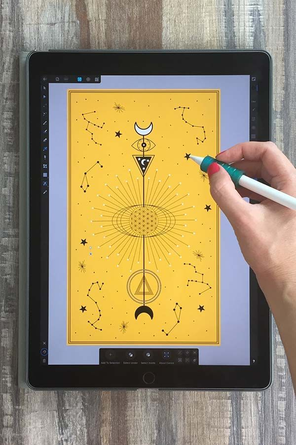 Download Geometric Vector Illustration In Affinity Designer 33 Geometric Vector Assets In The Class Y Geometric Vector Graphic Design Tutorials Vector Illustration