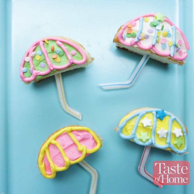 Spring Shower Cupcakes