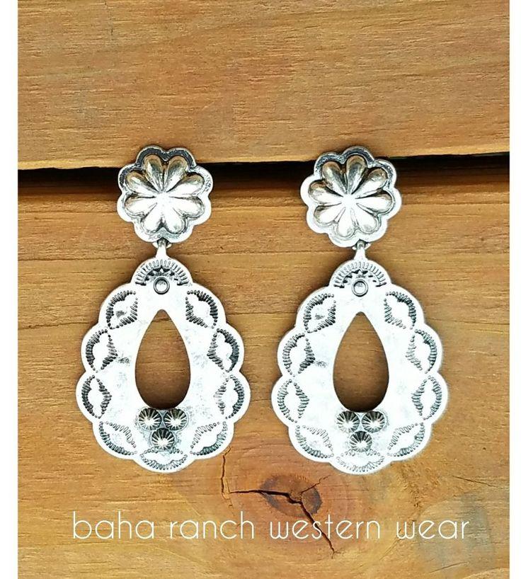 Cowgirl Bling Gypsy EARRINGS Silver tone  concho spanish | Jewelry & Watches, Fashion Jewelry, Earrings | eBay!