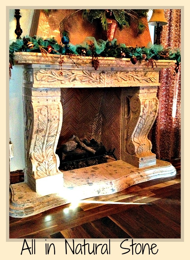 Best natural stone hand carved fireplaces images on