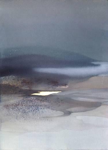 "Saatchi Art Artist Sabrina Garrasi; Painting, """"Il luogo dell'abbandono."" - Abstract Landscape"" #art"