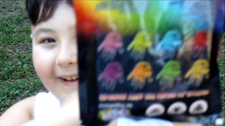 Sfida con gli Orrbix Holi Happy Colors (proviamo i colori) - ttry the po...