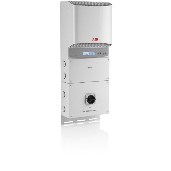 ABB, PVI-3.6-OUTD-S-US-A, NON-ISOLATED STRING INVERTER, 3600W, 208/240/277 VAC, DUAL MPPT WITH AFCI