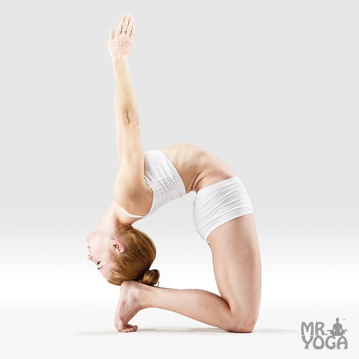 Yoga Pose Tip Toe Pigeon Pose Prapada Kapotasana | yoga ...
