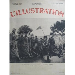 L'Illustration - n°4954 - 12/02/1938 - Le pas romain de parade : démonstration du Duce [magazine mis en vente par Presse-Mémoire]