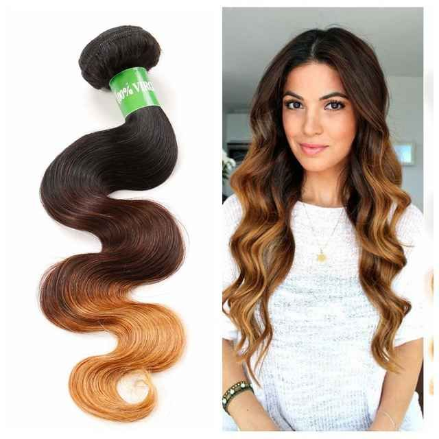 Source 2018 New Product 12 Inches Ombre Body Wave Brazilian Human Hair Extension Brazilian Human Hair Extensions Brazilian Human Hair Body Wave Hair Extensions