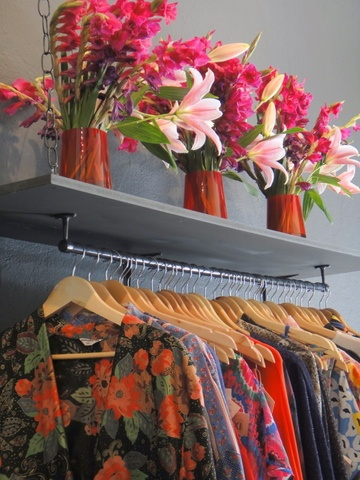 If space allows, this could bring a boutique feel to your home closet!