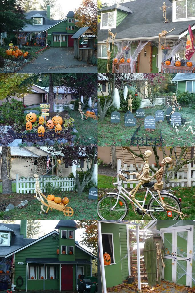 276 best Halloween Decorations images on Pinterest Halloween - yard decorations for halloween