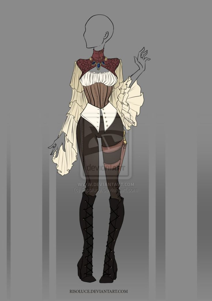 (CLOSED) Adoptable Outfit Auction 16 by Risoluce on DeviantArt