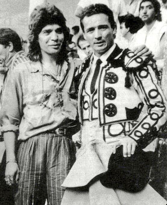 Camarón de la Isla con José María Manzanares. 25 años in memoriam. DEP.
