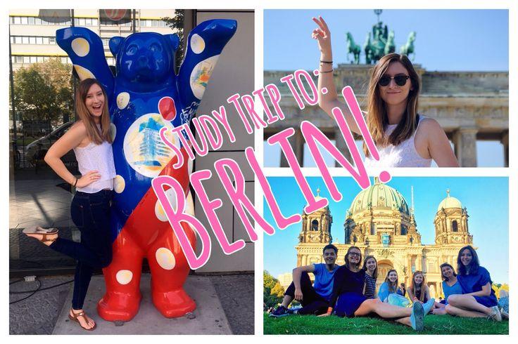 Study Trip to Berlin // Week 1 // CC Overseas Travel Vlog