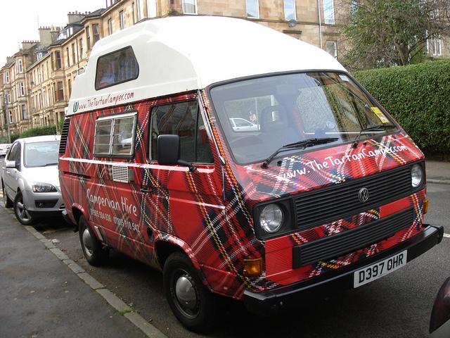 The Tartan Camper - 1986 Volkswagen Transporter