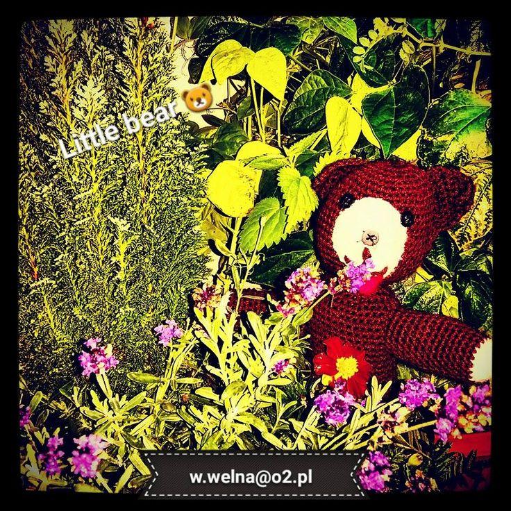Miś Uszatek :)  #handmade #bear #uszatek
