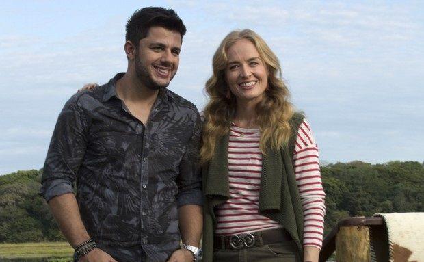 Cristiano Aráujo e Angélica  (Foto: Gabriel Nascimento/Gshow)