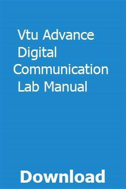 Advanced digital communication books pdf