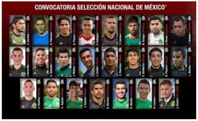 Blog de palma2mex : El TRI de México que enfrentará a Senegal el 10 de...