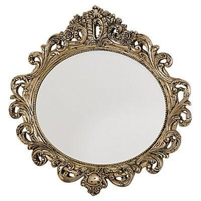 """Show details for Jessica McClintock Boutique Oval Decorative Mirror 49"""" h x 51"""" w x 4"""" d $735"""
