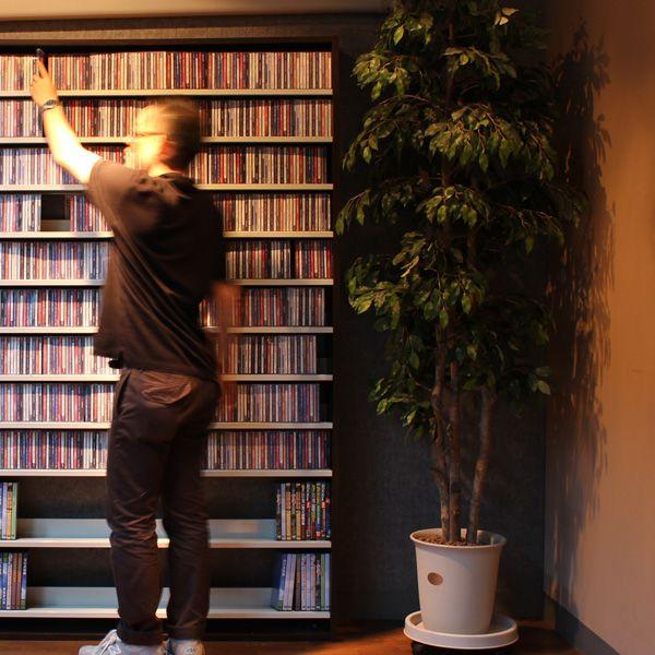幅139cm インデックスプレート20枚付き CDラック 大容量 おしゃれ デザイン CD 収納 大量 プロ 業務用 日本製 0824楽天カード分割。CD屋さんのCDラック 大容量 CD1,668枚収納可能 インデックスプレート20枚付き(おしゃれ ラック シェルフ オシャレ 収納棚 収納ラック DVD収納 CD収納 ナチュラル ホワイト 白 ダークブラウン cdラック cd収納ラック dvd収納ラック)10P05Nov16
