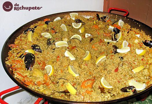 Arroz de una de las mejores fiestas de España, A Festa do Boi en Allariz