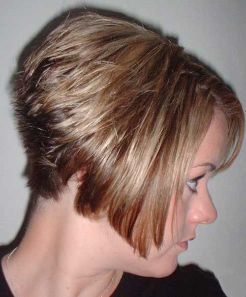 15 Short Stacked Haircuts | http://www.short-haircut.com/15-short-stacked-haircuts.html