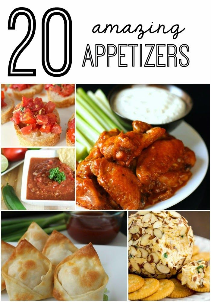 20 amazing appetizers party recipes pinterest new for Appetizer ideas for new years eve party