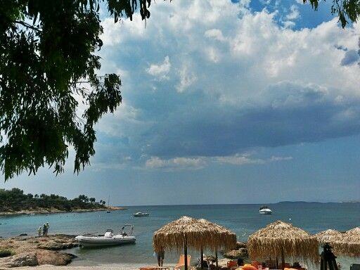 lagonisi beach, greece