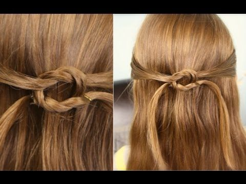 Pullbacks into Square Knot | Daddy 'Do Hairstyles  {This video created and filmed by my hubby when I was out of town!  What do you think???}