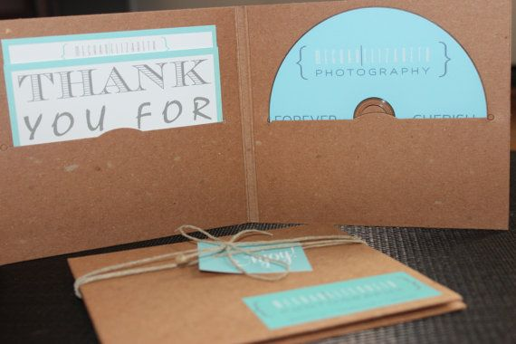 Photographer CD Packaging by KADdesignsforlove on Etsy, $3.75