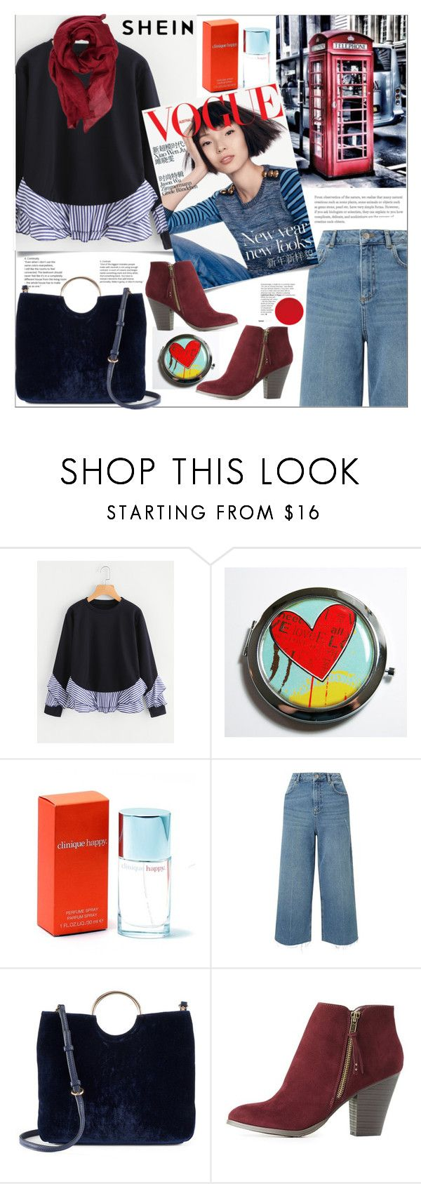 """""""Shein"""" by natalyapril1976 on Polyvore featuring Mode, Clinique, Miss Selfridge, LC Lauren Conrad, Charlotte Russe und Gucci"""