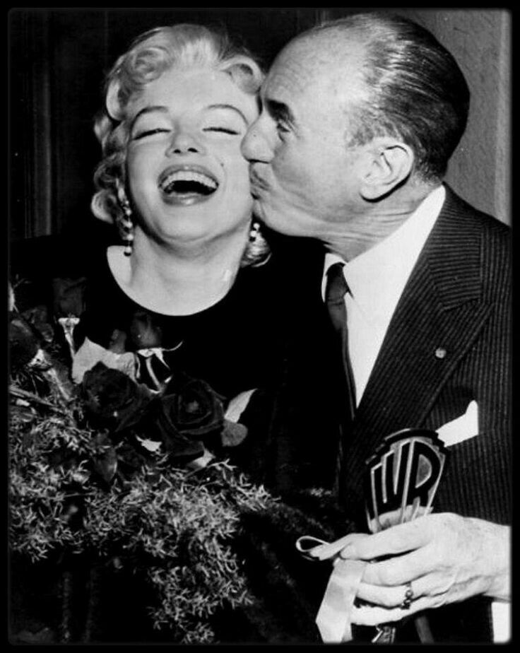 Marilyn Monroe and Jack Warner