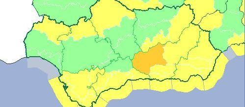 Martes en alerta amarilla en Málaga por lluvia, nieve y vientos - La Opinión de Málaga