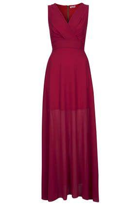 **Cross-Bust Maxi Dress by Wal G -TOPSHOP