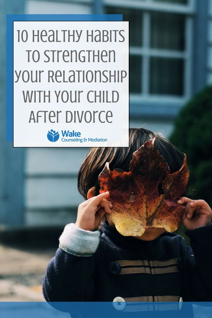 Divorce and children and new relationships