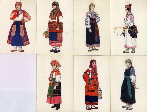 costumes from south Russia