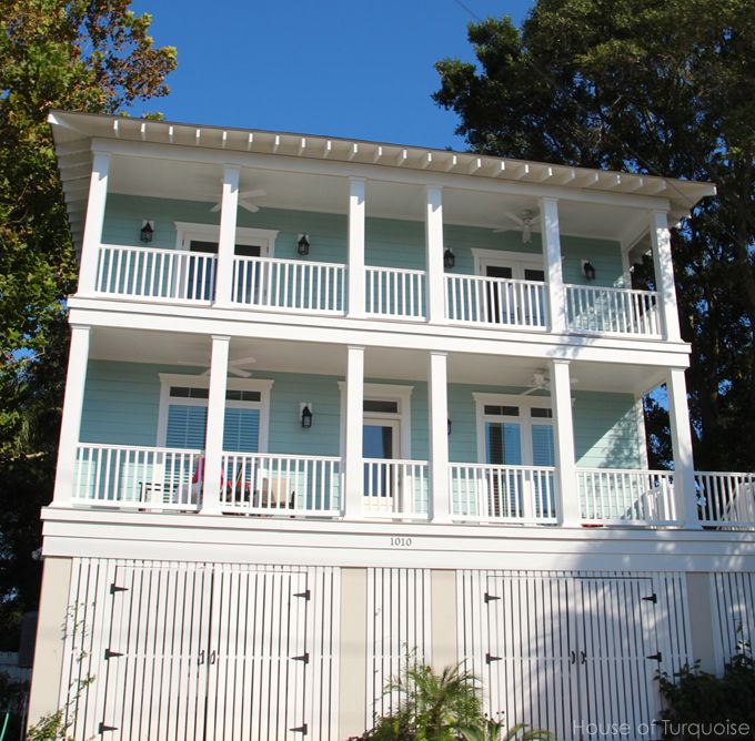 Beach Houses In Savannah Ga Part - 42: House Of Turquoise: Tybee Island, GA - Click Through To Mermaid Cottages  For Vacation