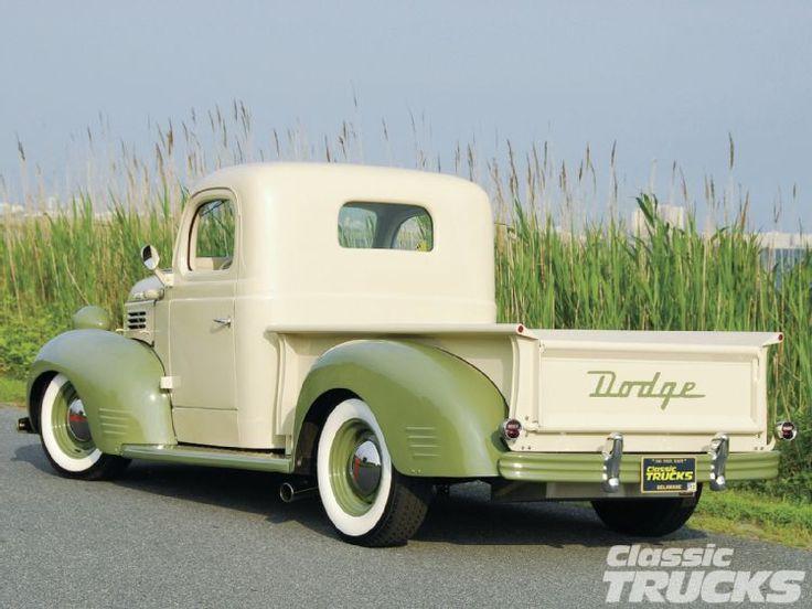 1941 Dodge Truck. Nice vintage colour combination