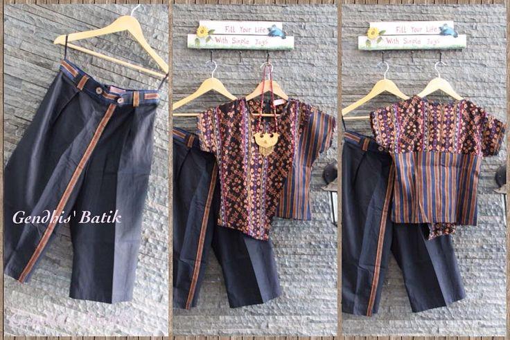 Tenun Maumere & Batik Lurik + Cullotes