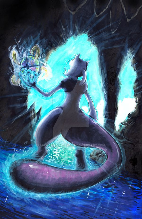 Smash Series: Mewtwo Strikes Back! by matsuyama-takeshi