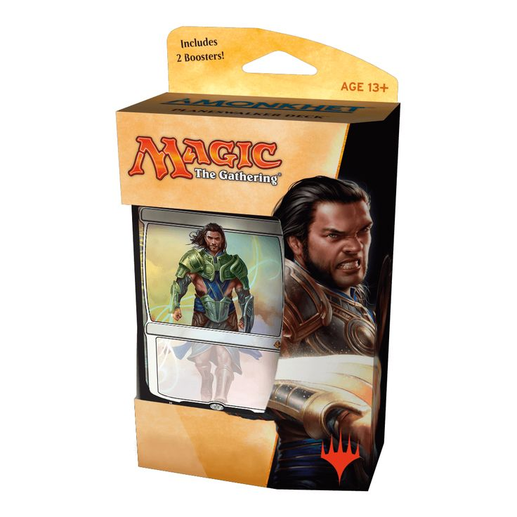 Magic the Gathering Amonkhet Planeswalker Deck Gideon PRESALE