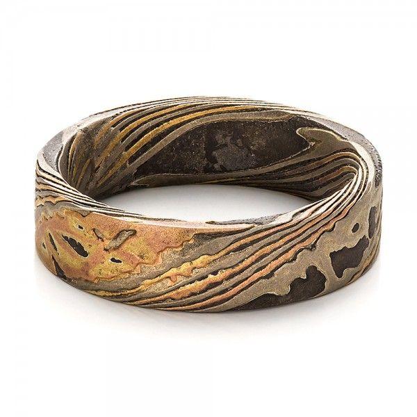 212 best mokume gane images on Pinterest Jewelry Metal jewelry