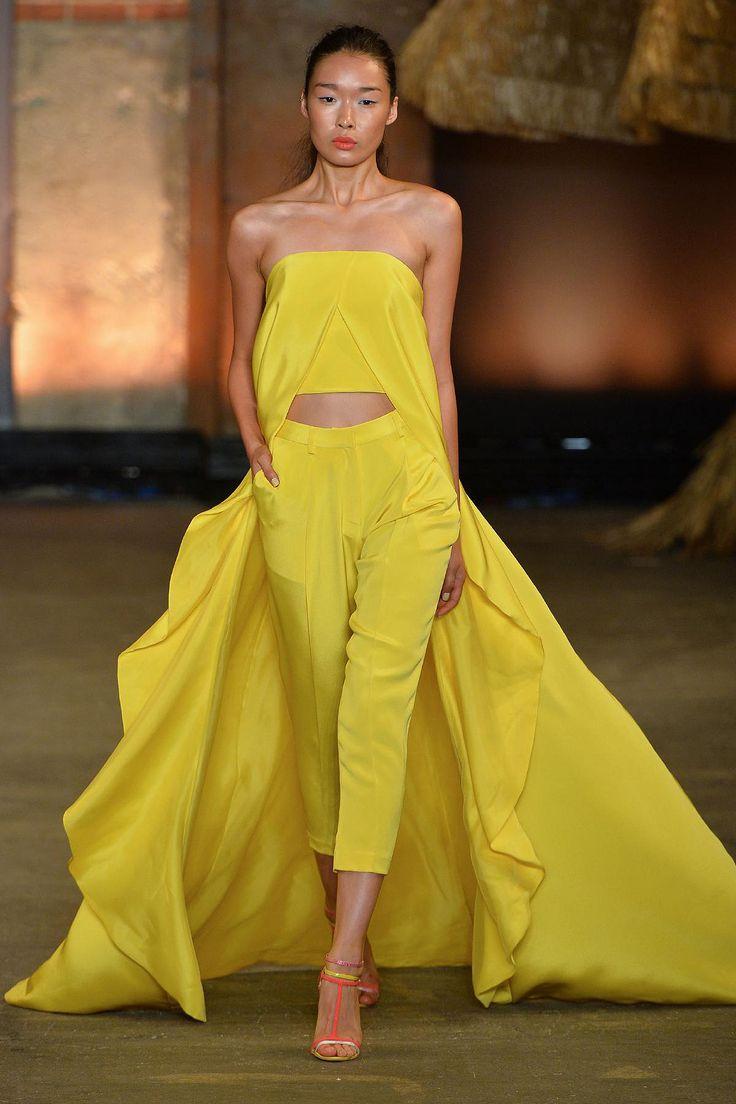 Inka lace dress yellow   best Fashion images on Pinterest  Coat storage Fashion design