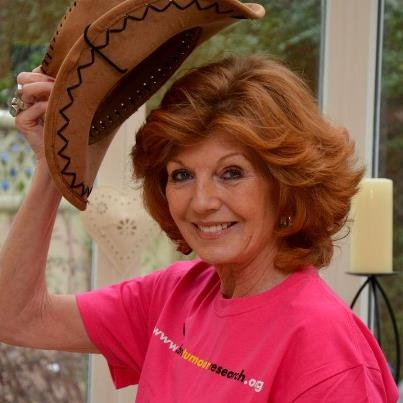 """Instantly recognisable British actress and conservationist Rula Lenska is now supporting our campaign:  """"Brain tumours can affect anyone at any time at any age and we still don't really know what causes them. They are the biggest cancer killer of children and adults under 40, yet the research to find a cure receives less than one per cent of the national spending. Get involved in Wear A Hat Day on 28th March and raise vital funds for Brain Tumour Research."""""""
