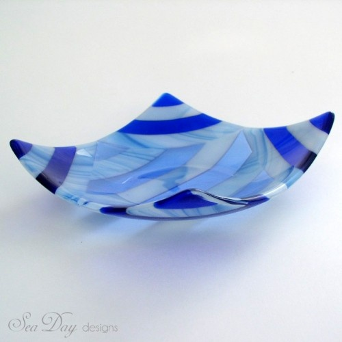 Blue Decorative Bowl 260 Best Fused Glass  Plates Images On Pinterest  Fused Glass