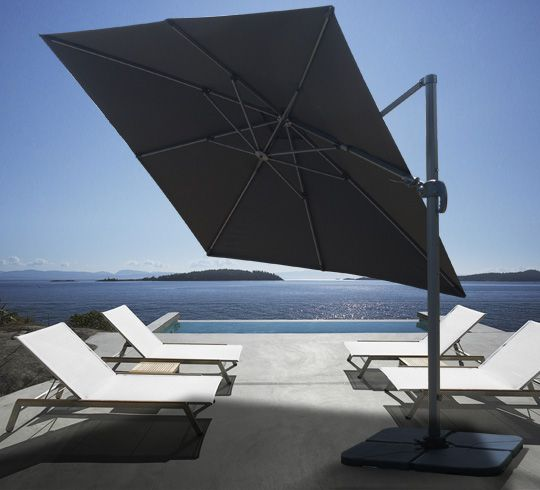 les 25 meilleures id es concernant parasol d port sur pinterest parasol terrasse parasol. Black Bedroom Furniture Sets. Home Design Ideas