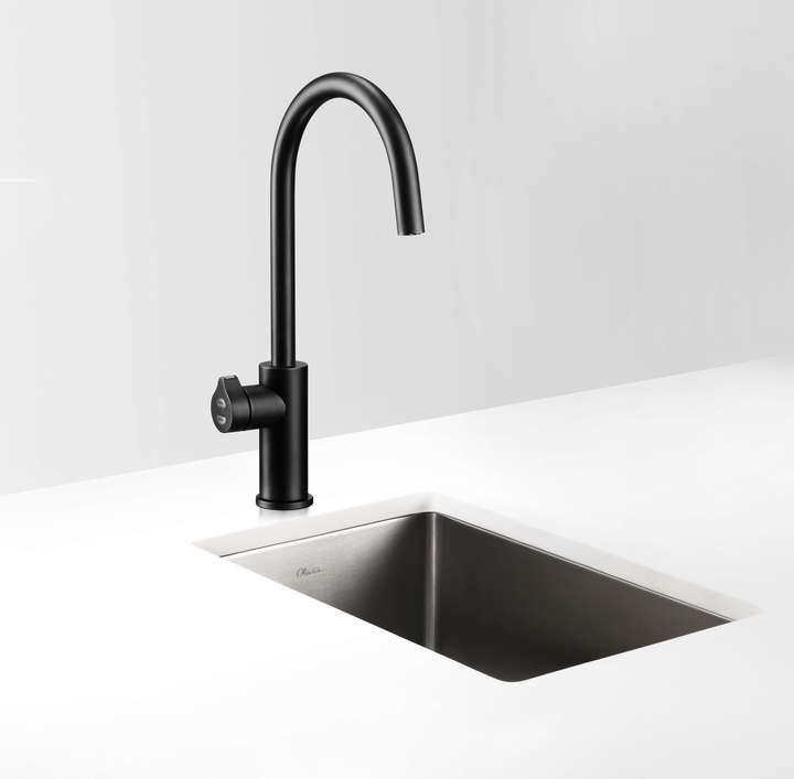 Zip tap with hot and cold water and sparkling water: $5K