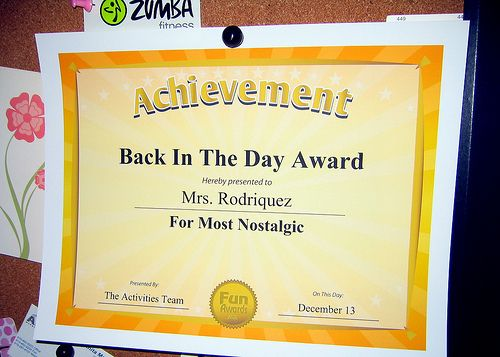 From quot 101 funny award certificates quot by comedian larry weaver