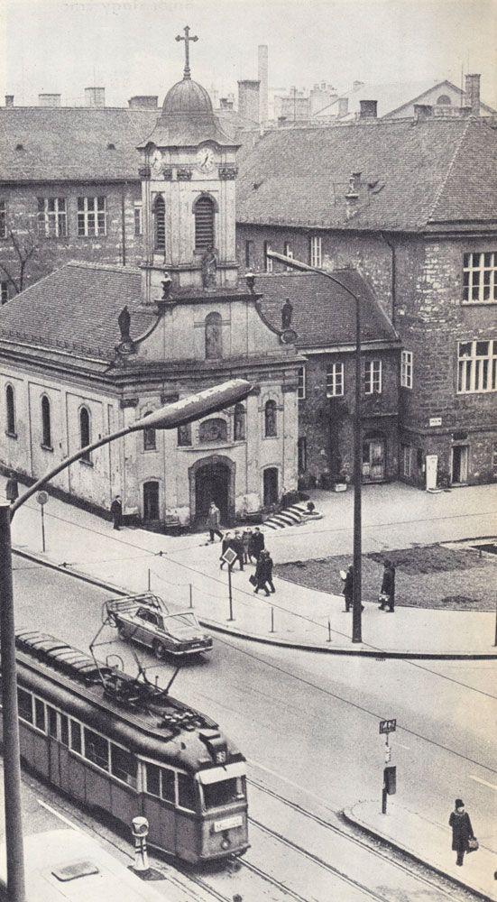 Rókus kápolna - Rákóczi út, 1969